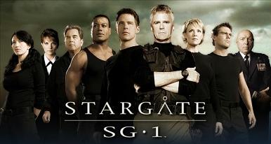 Stargate SG-1 cast minus Jonas Quinn