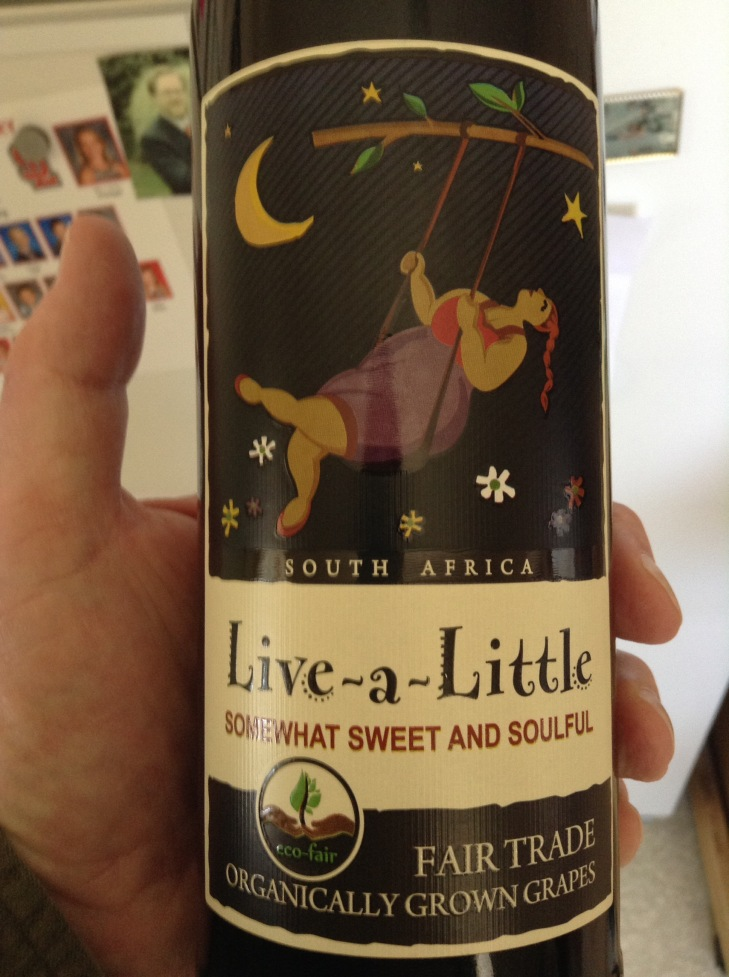 Live-a-Little table red from Stellar Winery, South Africa